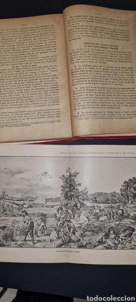 Libros antiguos: Curso superior lengua francesa. De Alphonse Perrier. 1922. Con sello del Colegio del I. Corazon .. - Foto 8 - 247288315