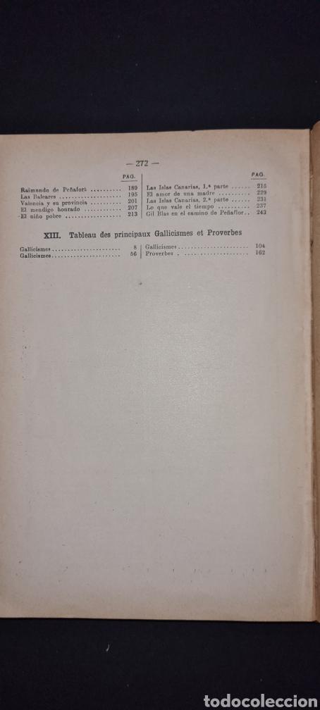 Libros antiguos: Curso superior lengua francesa. De Alphonse Perrier. 1922. Con sello del Colegio del I. Corazon .. - Foto 10 - 247288315