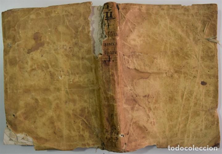 Libros antiguos: DICCIONARIO GENERAL DE LAS DOS LENGUAS ESPAÑOLA Y FRANCESA 1ª PARTE - GONZÁLEZ DE MENDOZA AÑO 1761 - Foto 2 - 254615250