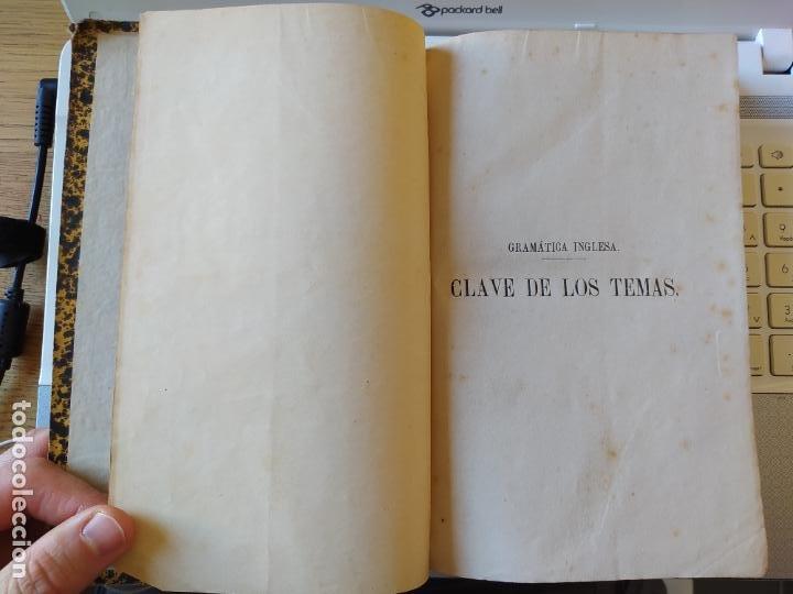 Libros antiguos: Gramática inglesa y método para aprenderla, Benot, ed. Gregorio Hernando, 1878 - Foto 10 - 259303960