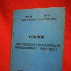 Libros antiguos: MANUAL DE CONVERSACIÓN ESPAÑOL-FRANCÉS- JAIME CONNOR, JULIUS GROOS, 1918.. Lote 267450809
