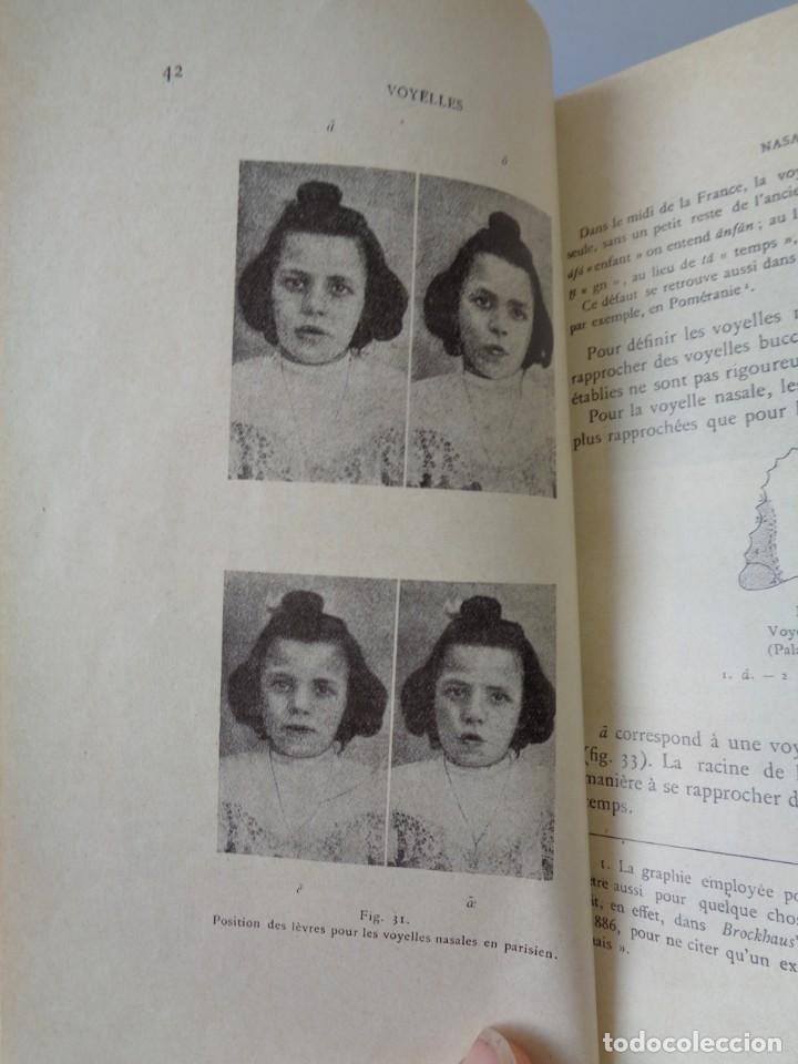 Libros antiguos: ¡¡ PRECIS DE PRONONCIATION FRANCAISE. AÑO 1927. !! - Foto 9 - 273424558