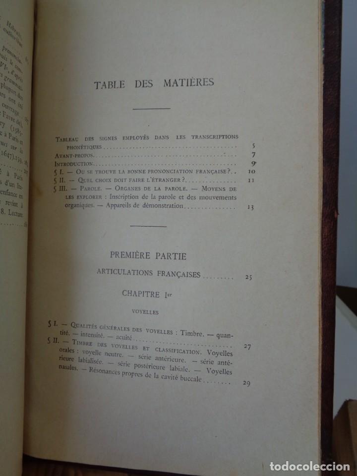 Libros antiguos: ¡¡ PRECIS DE PRONONCIATION FRANCAISE. AÑO 1927. !! - Foto 11 - 273424558
