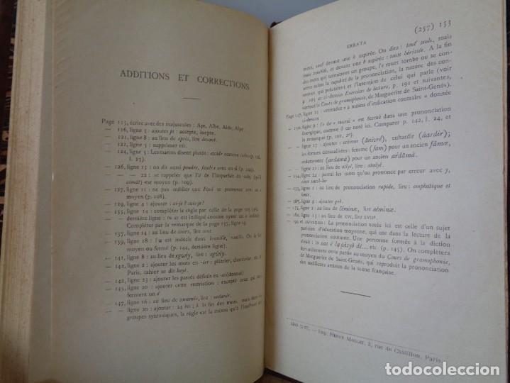 Libros antiguos: ¡¡ PRECIS DE PRONONCIATION FRANCAISE. AÑO 1927. !! - Foto 12 - 273424558