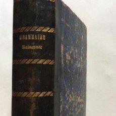 Libros antiguos: GRAMMAIRE LATINE, TRAITE DES LETTRES, DE L'ORTHOGRAPHE ET DE L'ACCENTUATION, 1842. RARO. Lote 276209473