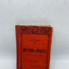 Libros antiguos: MÉTODO DE INGLÉS. LEWIS TH. GIRAU. LIBRO PRIMERO. EDITORIAL MAGISTER. 1925. 3ª ED. PAGS: 288. Lote 277562488