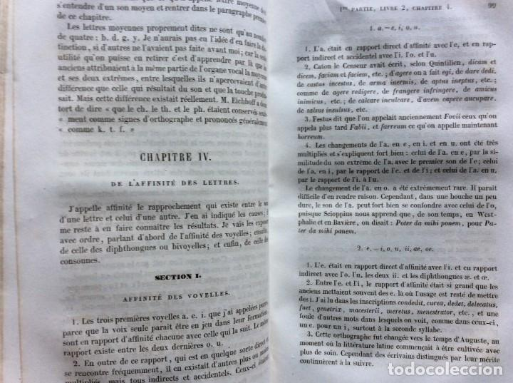 Libros antiguos: GRAMMAIRE LATINE, TRAITE DES LETTRES, DE LORTHOGRAPHE ET DE LACCENTUATION, 1842. RARO - Foto 8 - 285368418