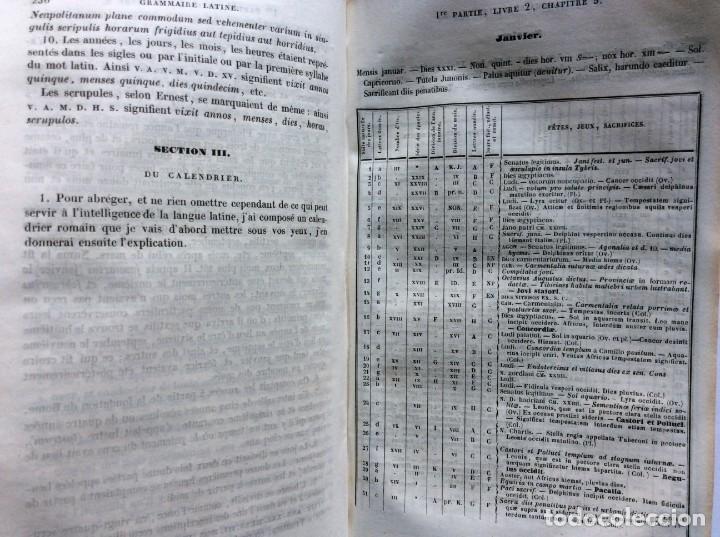 Libros antiguos: GRAMMAIRE LATINE, TRAITE DES LETTRES, DE LORTHOGRAPHE ET DE LACCENTUATION, 1842. RARO - Foto 9 - 285368418