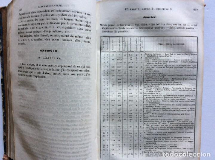 Libros antiguos: GRAMMAIRE LATINE, TRAITE DES LETTRES, DE LORTHOGRAPHE ET DE LACCENTUATION, 1842. RARO - Foto 10 - 285368418