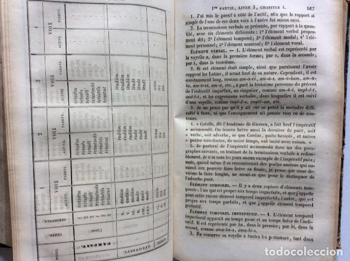 Libros antiguos: GRAMMAIRE LATINE, TRAITE DES LETTRES, DE LORTHOGRAPHE ET DE LACCENTUATION, 1842. RARO - Foto 12 - 285368418