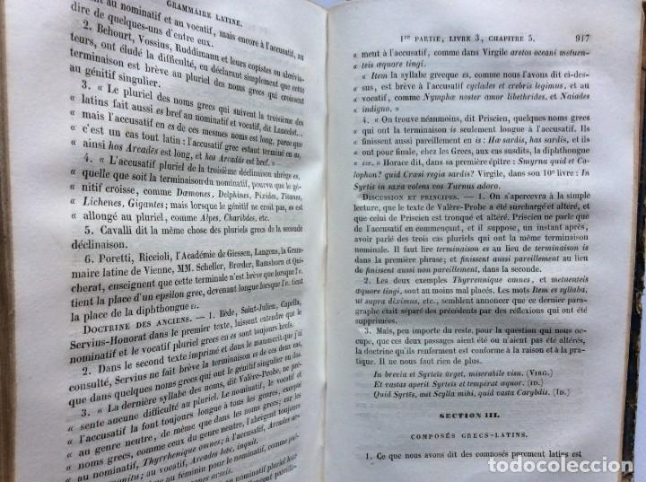 Libros antiguos: GRAMMAIRE LATINE, TRAITE DES LETTRES, DE LORTHOGRAPHE ET DE LACCENTUATION, 1842. RARO - Foto 13 - 285368418