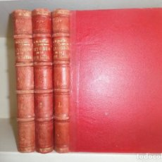 Libros antiguos: ESTUDIO PRACTICO TEORICO DE LA LENGUA LATINA NUEVO METODO - IGNACIO ALBERICIO AZAGRA - 3 TOMOS 1888. Lote 285605083