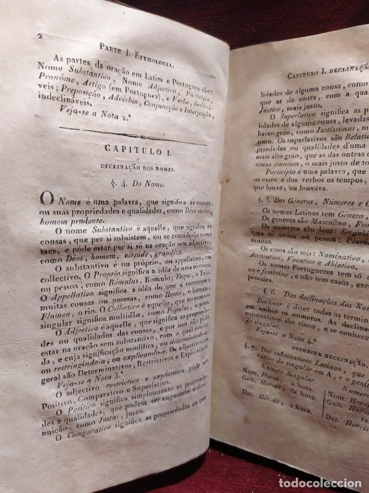 Libros antiguos: 1847. Compendio de gramática latina y portuguesa. José Vicente Gomes de Maura. - Foto 9 - 286264318