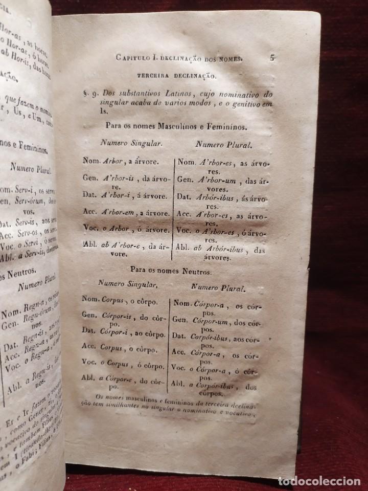 Libros antiguos: 1847. Compendio de gramática latina y portuguesa. José Vicente Gomes de Maura. - Foto 11 - 286264318