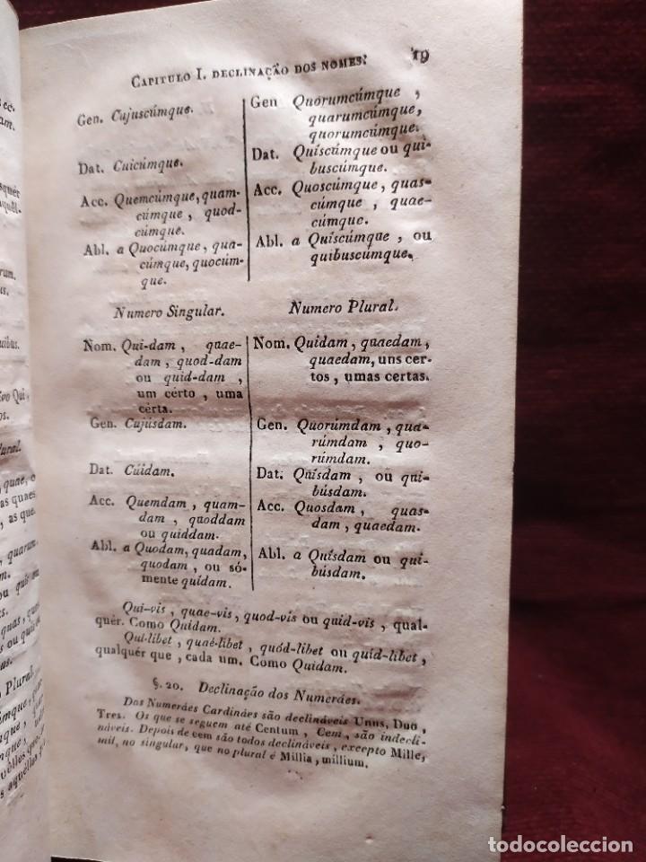 Libros antiguos: 1847. Compendio de gramática latina y portuguesa. José Vicente Gomes de Maura. - Foto 13 - 286264318