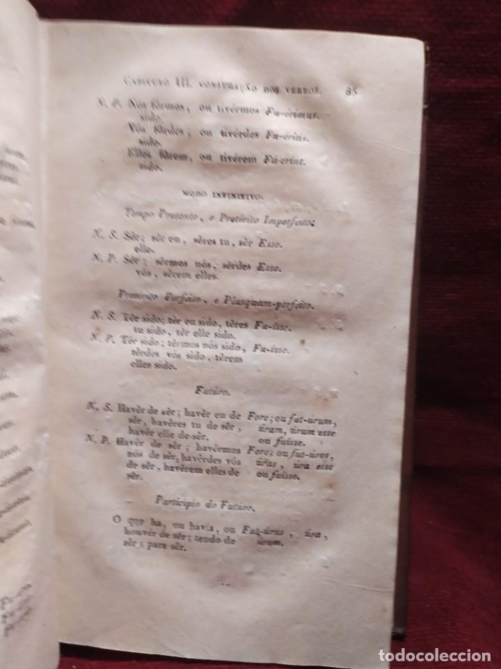 Libros antiguos: 1847. Compendio de gramática latina y portuguesa. José Vicente Gomes de Maura. - Foto 14 - 286264318