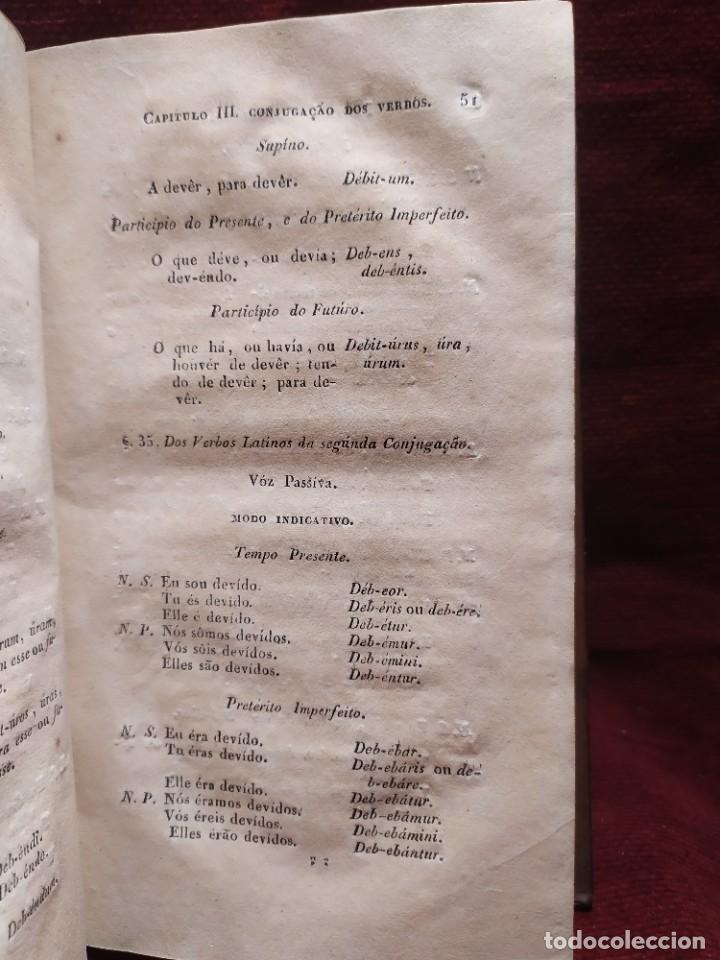 Libros antiguos: 1847. Compendio de gramática latina y portuguesa. José Vicente Gomes de Maura. - Foto 15 - 286264318