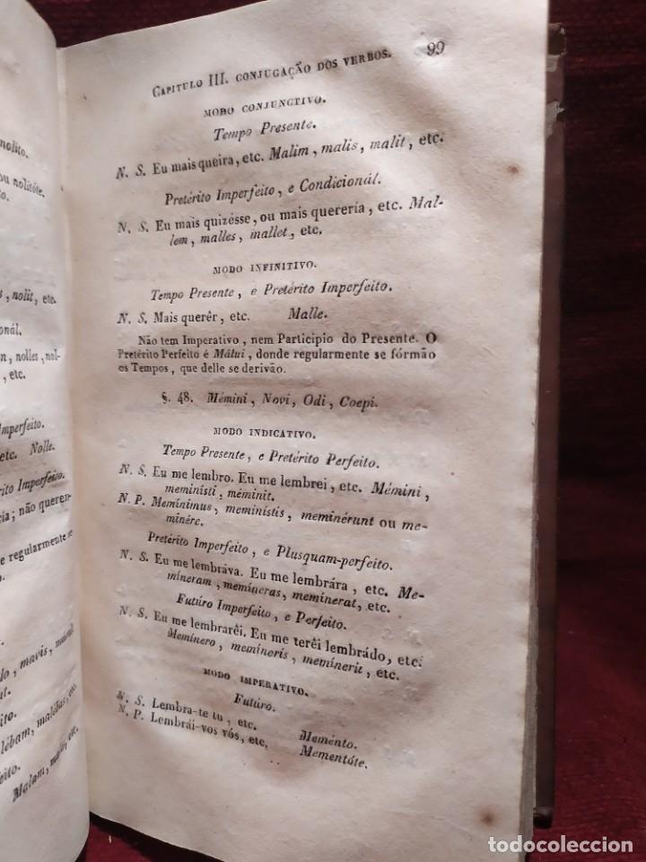 Libros antiguos: 1847. Compendio de gramática latina y portuguesa. José Vicente Gomes de Maura. - Foto 17 - 286264318
