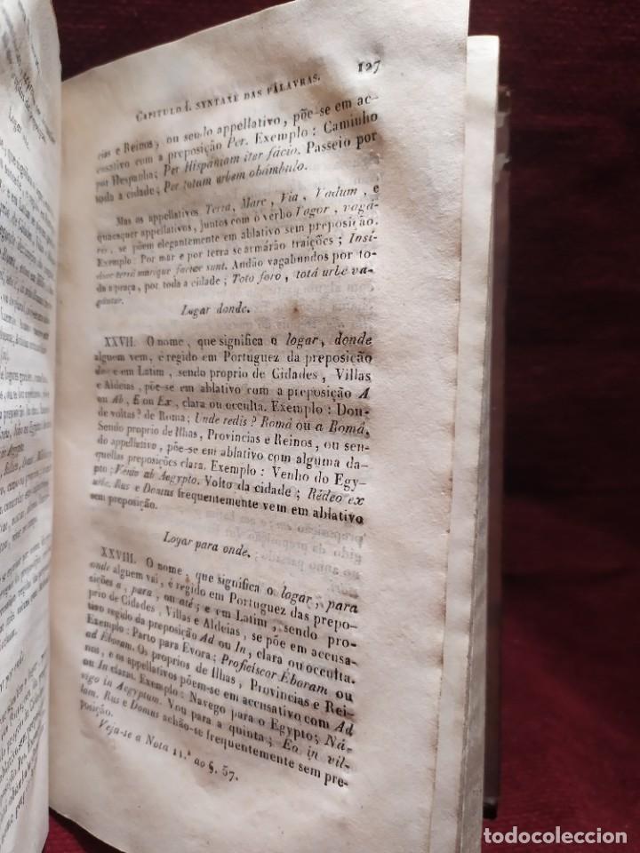 Libros antiguos: 1847. Compendio de gramática latina y portuguesa. José Vicente Gomes de Maura. - Foto 18 - 286264318