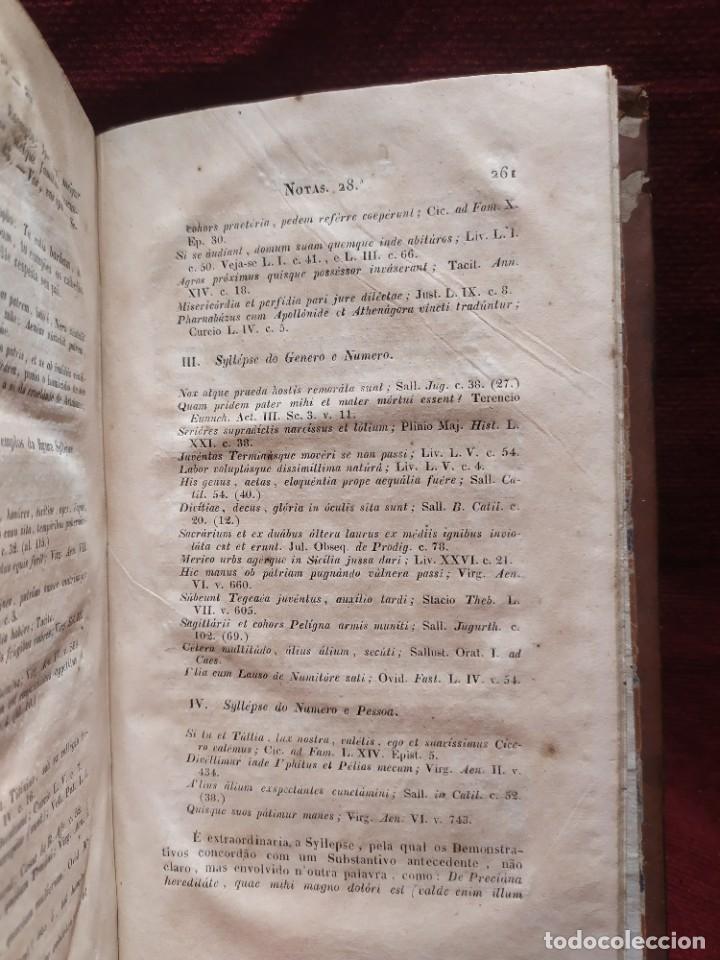 Libros antiguos: 1847. Compendio de gramática latina y portuguesa. José Vicente Gomes de Maura. - Foto 21 - 286264318