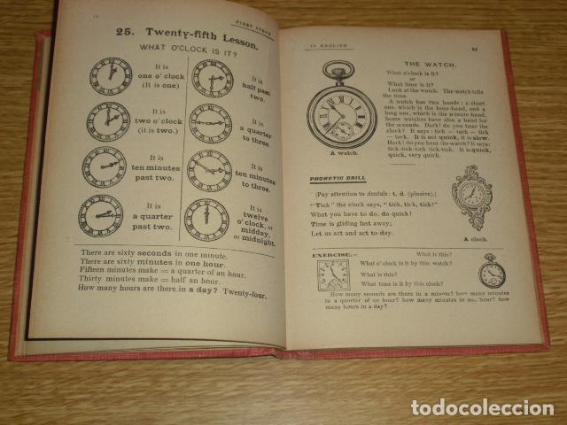 Libros antiguos: FIRST STEPS IN ENGLISH - 1922 - Foto 3 - 286718703