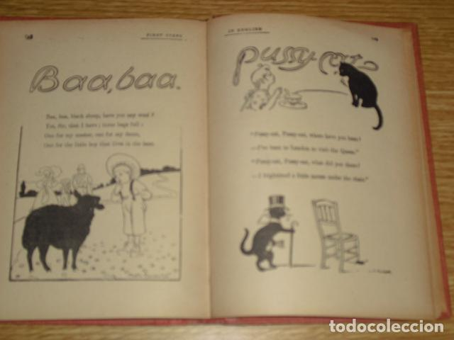 Libros antiguos: FIRST STEPS IN ENGLISH - 1922 - Foto 5 - 286718703