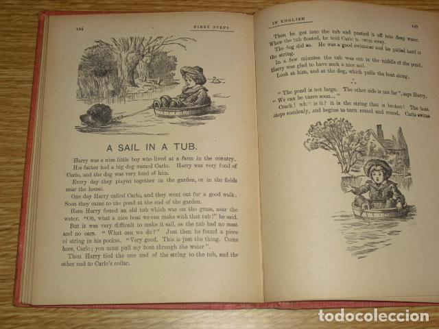 Libros antiguos: FIRST STEPS IN ENGLISH - 1922 - Foto 8 - 286718703