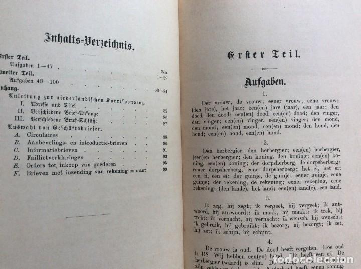 Libros antiguos: Schlüssel zür Niederländischen konversations-grammatik,von T.G.G. Valette, 1891. - Foto 3 - 286875818