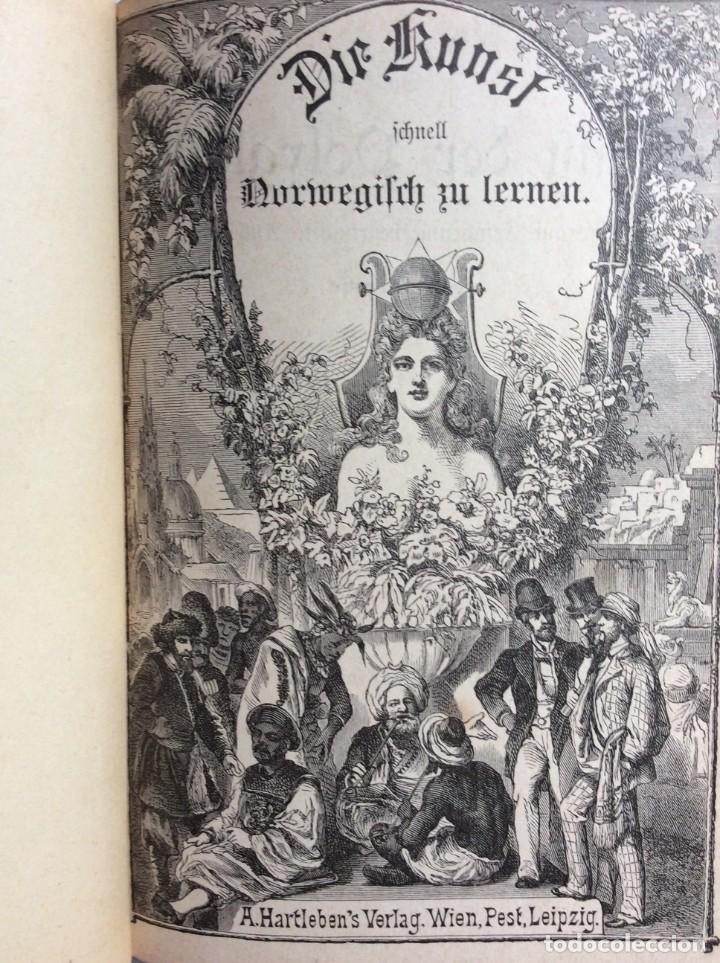 Libros antiguos: Libro de texto del idioma noruego para autoinstrucción. Por J.C. Poestion, cerca de 191? - Foto 2 - 286881623