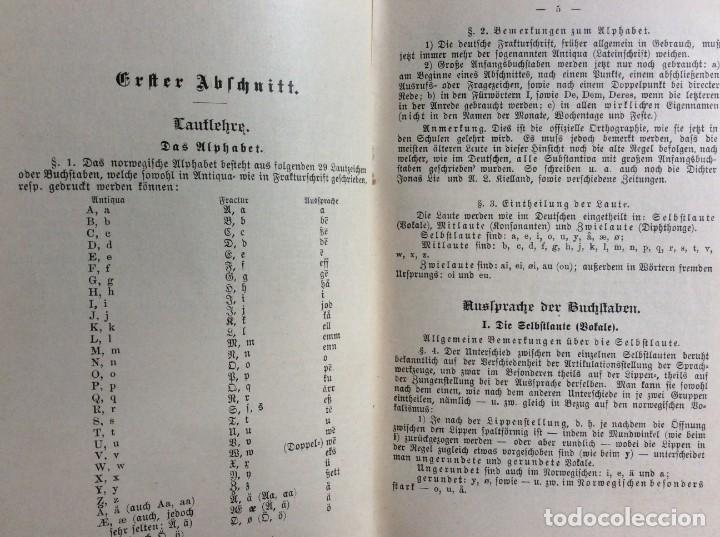 Libros antiguos: Libro de texto del idioma noruego para autoinstrucción. Por J.C. Poestion, cerca de 191? - Foto 6 - 286881623