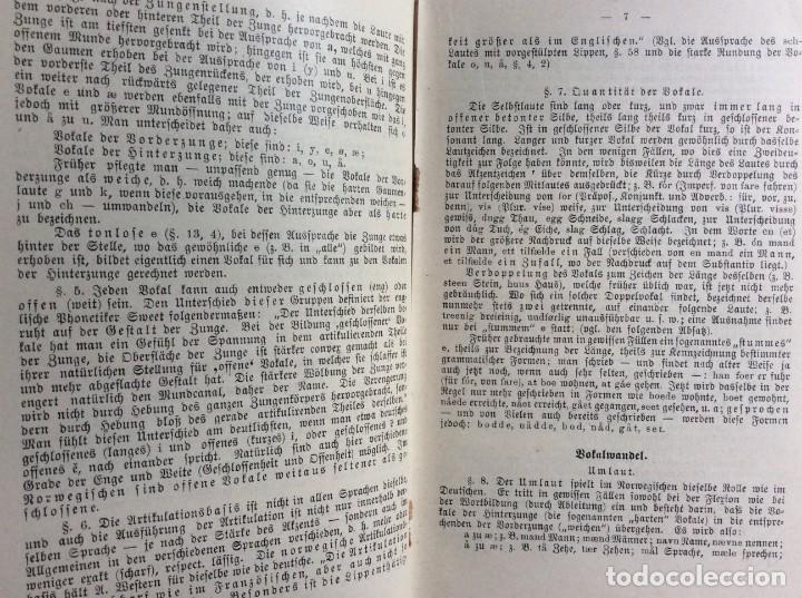 Libros antiguos: Libro de texto del idioma noruego para autoinstrucción. Por J.C. Poestion, cerca de 191? - Foto 7 - 286881623