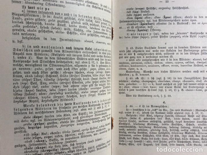 Libros antiguos: Libro de texto del idioma noruego para autoinstrucción. Por J.C. Poestion, cerca de 191? - Foto 8 - 286881623