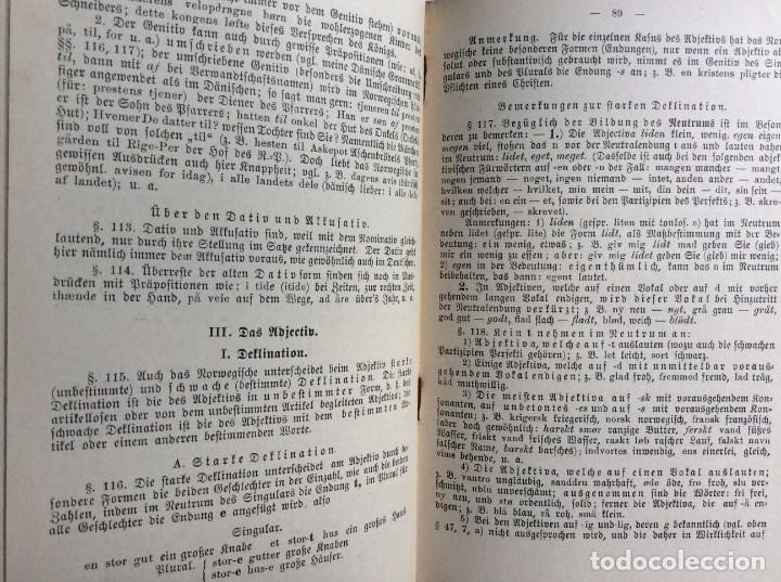 Libros antiguos: Libro de texto del idioma noruego para autoinstrucción. Por J.C. Poestion, cerca de 191? - Foto 10 - 286881623