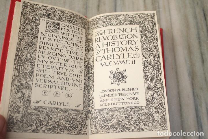THE FRENCH REVOLUTION. A HISTORY. 2 BÄNDE CARLYLE, THOMAS VOLUME II LONDON PUBLISHED (Libros Antiguos, Raros y Curiosos - Cursos de Idiomas)