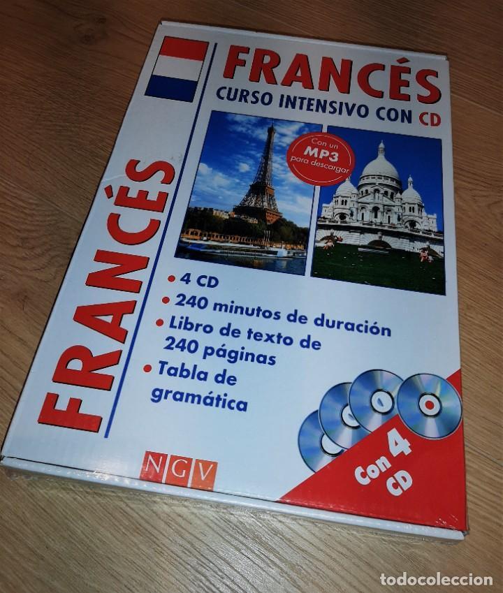 PACK CURSO INTENSIVO DE FRANCÉS (LIBRO+CD+MP3) (Libros Antiguos, Raros y Curiosos - Cursos de Idiomas)