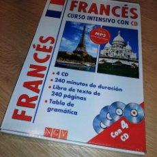 Libros antiguos: PACK CURSO INTENSIVO DE FRANCÉS (LIBRO+CD+MP3). Lote 288093393