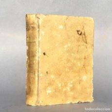 Libros antiguos: AÑO 1764 - GRAMMATICA DE LA LENGUA FRANCESA - FILOLOGIA - FRANCES - PERGAMINO. Lote 289253243