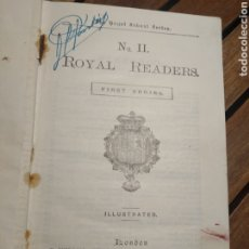 Libros antiguos: ROYAL READERS Nº 2 FIRST SERIES ILLUSTRATED THOMAS NELSON AND SONS LTD 1928. Lote 293581148