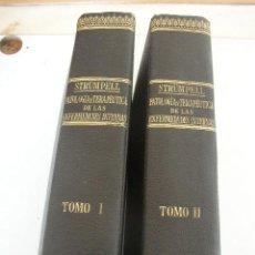 Libros antiguos: TRATADO DE PATOLOGÍA Y TERAPÉUTICA DE LAS ENFERMEDADES INTERNAS, PARA EST. Y MÉD.- 2 TOMOS-STRÜMPELL. Lote 22111873