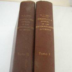 Libros antiguos: TRATADO DE TERAPÉUTICA ESPECIAL DE LAS ENFERMEDADES INTERNAS, PARA MÉDICOS Y ESTUDIANTES.N. ORTNER. Lote 26916247