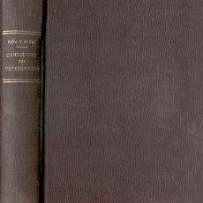 Libros antiguos: 1934.CONSULTOR DEL VETERINARIO VETERINARIA MEDICINA. Lote 28059513