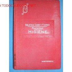 Libros antiguos: MANUAL DE HIGIENE..MEDICINA..DR. MACIGNE. 1925. Lote 1389241