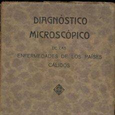 Libros antiguos: MEDICINA. DIAGNOSTICO MICROSCOPICO POR F.W. BACH Y JOHANNES ZSCHUCKE. Lote 10657547