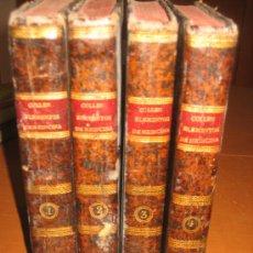 Libros antiguos: ELEMENTOS DE MEDICINA PRACTICA . 4 TOMOS, DR. GUILLERMO CULLEN. 1788/1799.. Lote 26995515