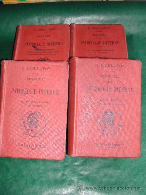 MANUEL DE PATHOLOGIE INTERNE, DE GEORGES DIEULAFOY - 1911 (Libros Antiguos, Raros y Curiosos - Ciencias, Manuales y Oficios - Medicina, Farmacia y Salud)