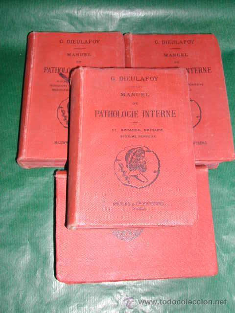 Libros antiguos: MANUEL DE PATHOLOGIE INTERNE, DE GEORGES DIEULAFOY - 1911 - Foto 4 - 237264585
