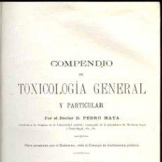 Libros antiguos: 1874: TOXICOLOGÍA - MEDICINA LEGAL - MONUMENTAL. Lote 26632445
