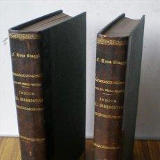 Libri antichi: 2 TM . MEDICO PRACTICO .. INDICE DE DIAGNOSTICO DIFERENCIAL . FUNDADO EN LOS PRINCIPALES SÍNTOMAS. Lote 17239329