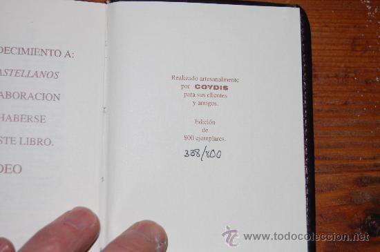 Libros antiguos: EDICION NUMERADA DEL LIBRO INSTITUCIONES DE ALBEYTERIA - Foto 4 - 17576342