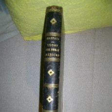 Libros antiguos: MANUAL DE LA SALUD. RASPAIL - JOAQUIN PUIGFERRER. 1877. Lote 26843948